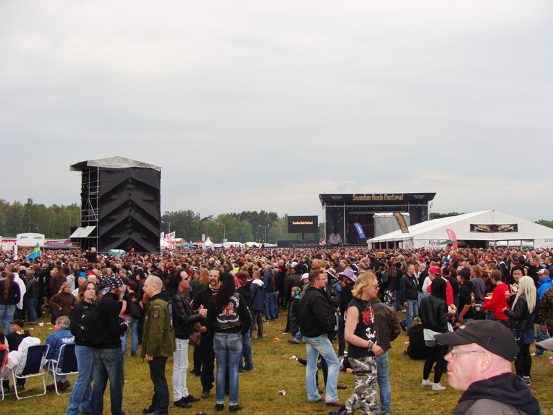 sweden rock crowd