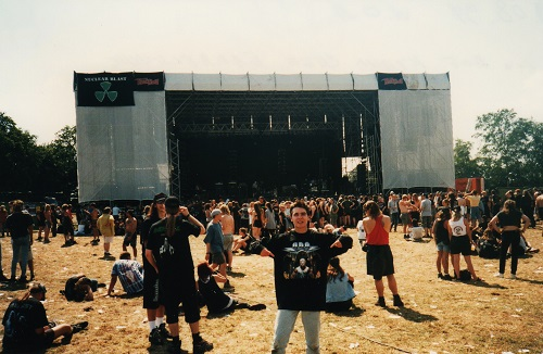 udo fan in 1997 at wacken