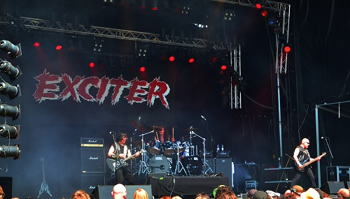 exciter at sweden rock festival
