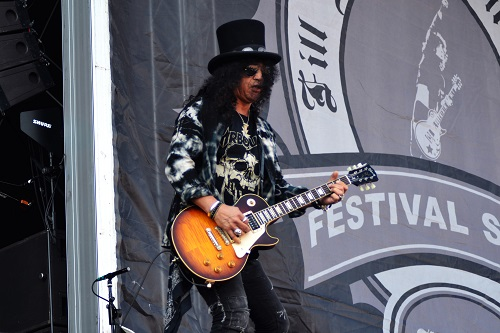 slash from guns n roses at sweden rock festival