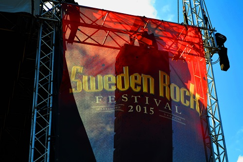 sweden rock festival stage