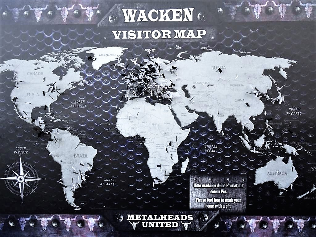 wacken visitor map