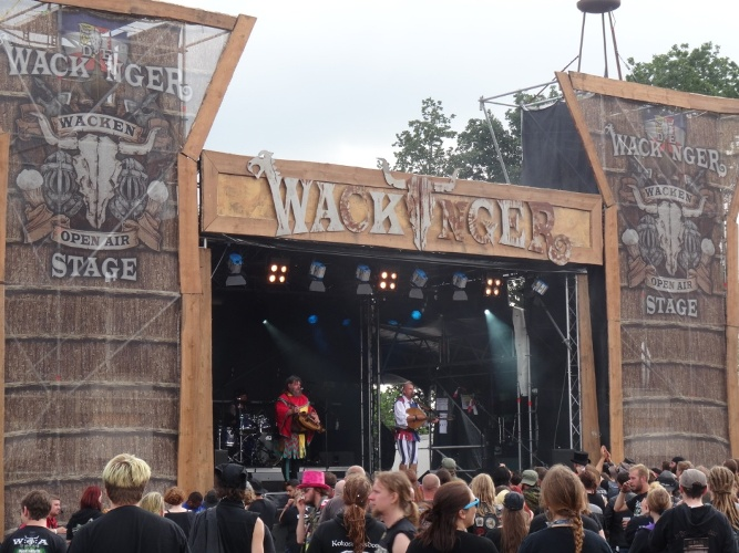 wackinger stage