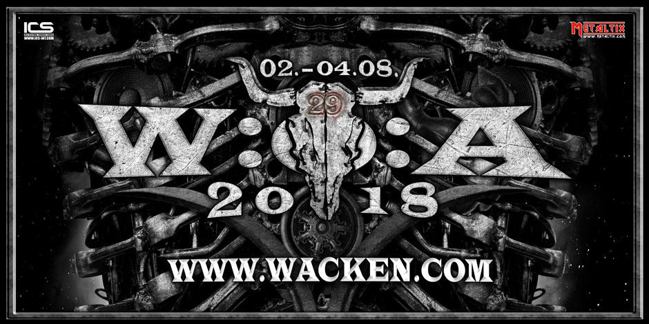 wacken open air 2018 poster